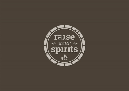 Sterke drank en wijn consultants op zoek Logo