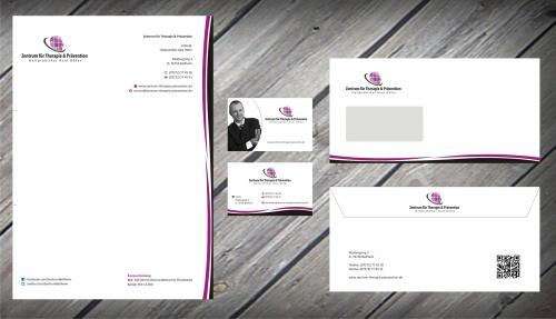 Hilfe! WER REICHT NOCH VORSCHLÄGE EIN? ->Briefpapier, Briefumschlag, Visitenkarte für Heilpraktikerpraxis (Schwerpunkt: Psychotherapie)
