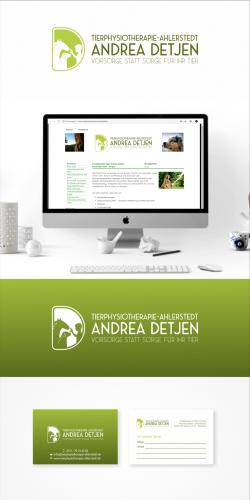 Logo & Visitenkarte für Tierphysiotherapie