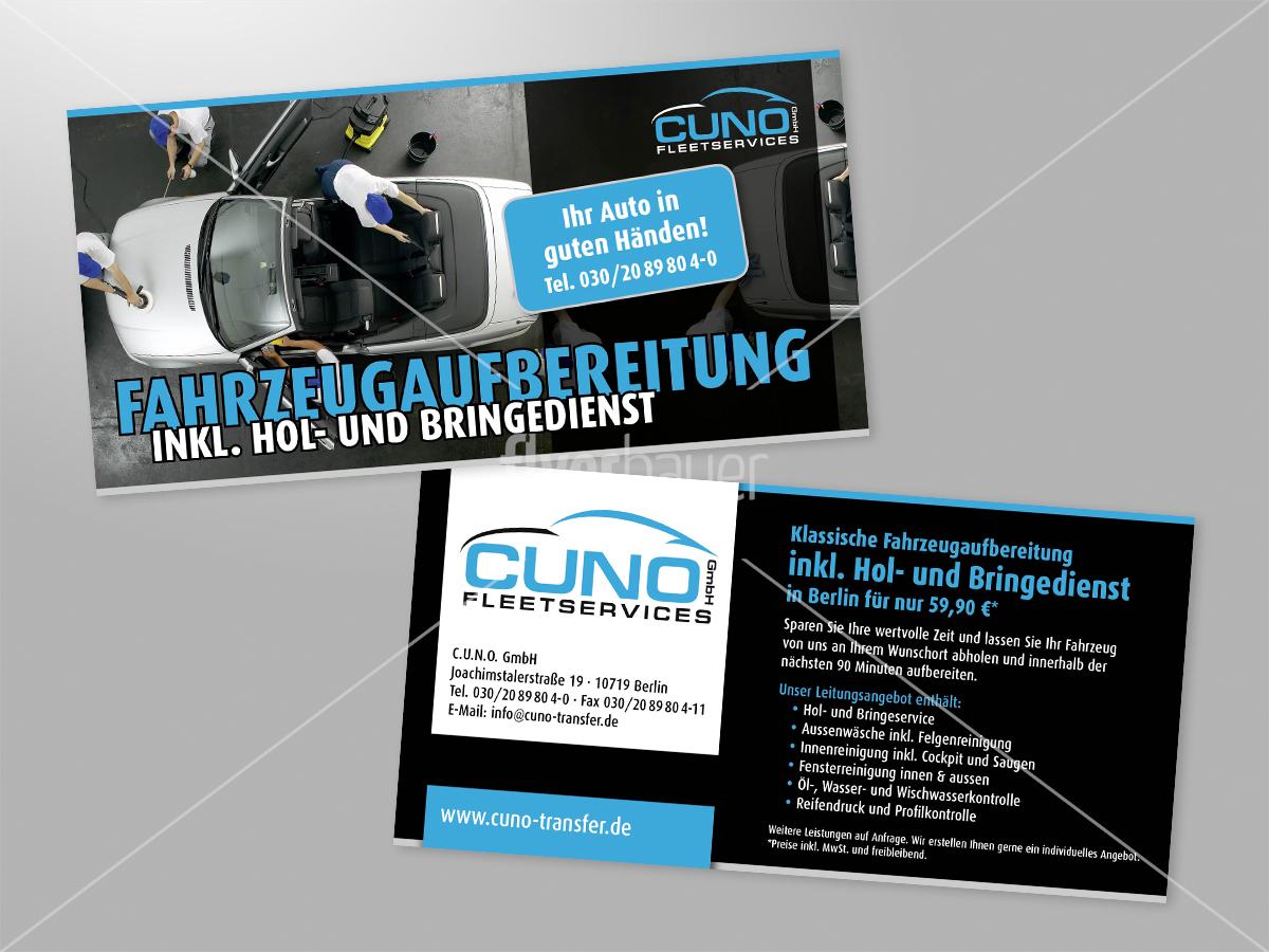 Fahrzeugaufbereitung Inkl Hol Und Bringedienst Flyer