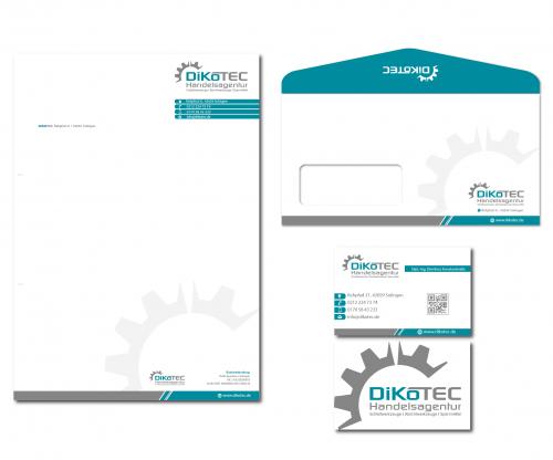 AgenturGeschäftspapier/Visitenkarte