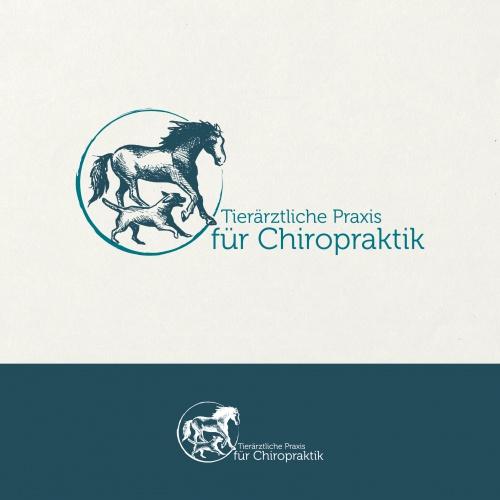Logo-Design für Tierärztin und Chiropraktikerin