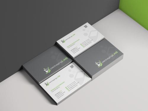 Visitenkarten-Design für Hochschulinstitut zur Beratung