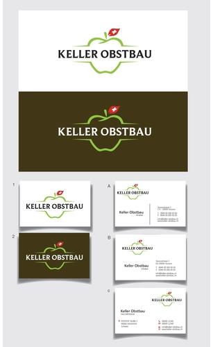 Logo & Visitenkarte für Obstbau-Unternehmen