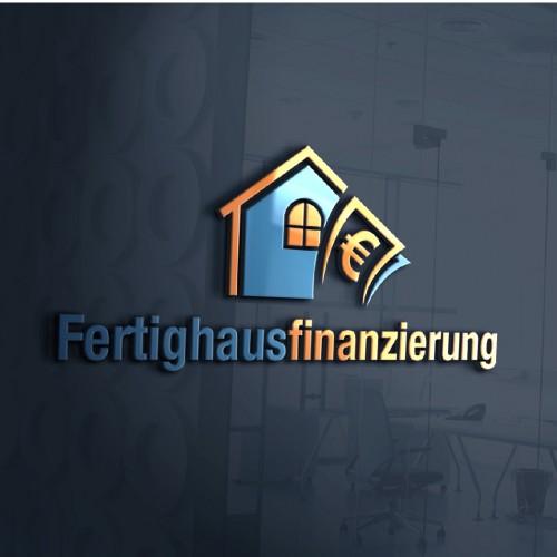 Logo-Design für Fertighausfinsnzierung