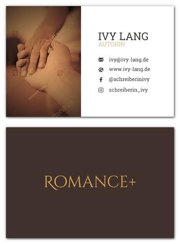 Visitenkarten-Design für Autorin