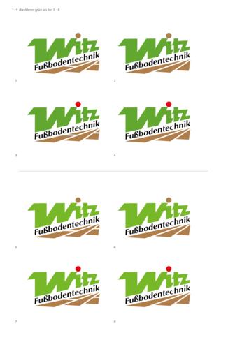 Logo-Design für Verlegung und Renovierung von Parkettböden und anderen Böden