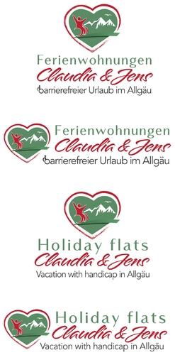 Logo für barrierefreie Ferienwohnungen im Allgäu