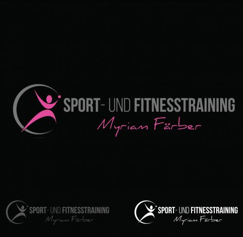 Personaltrainerin im Bereich Leistungssport Tennis  sucht Logo-Design