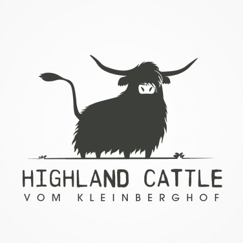 Logo-Design für Hobbyzucht von Schottischen Hochland Rindern
