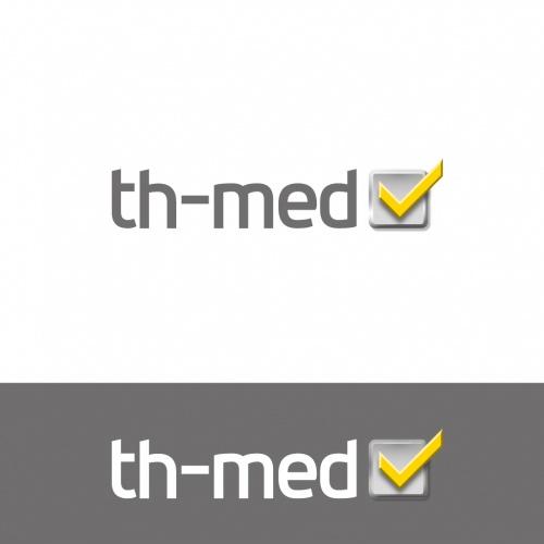 th-med - (medizin)technischer Dienstleister sucht (Logo)Design