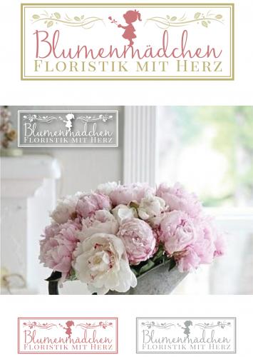 Logo-Design für Blumenfachgeschäft