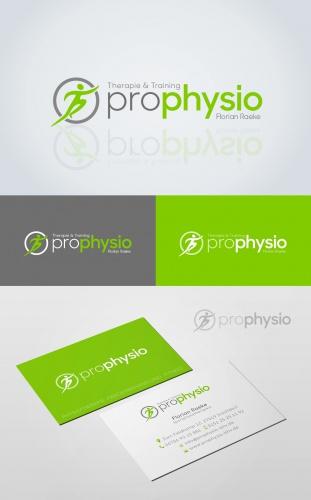 Logo & Visitenkarte für Jungen, modernen Sportphysiotherapeuten