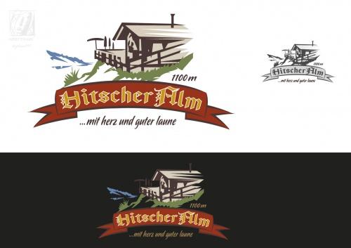 Logo-Design für Hitscher Alm