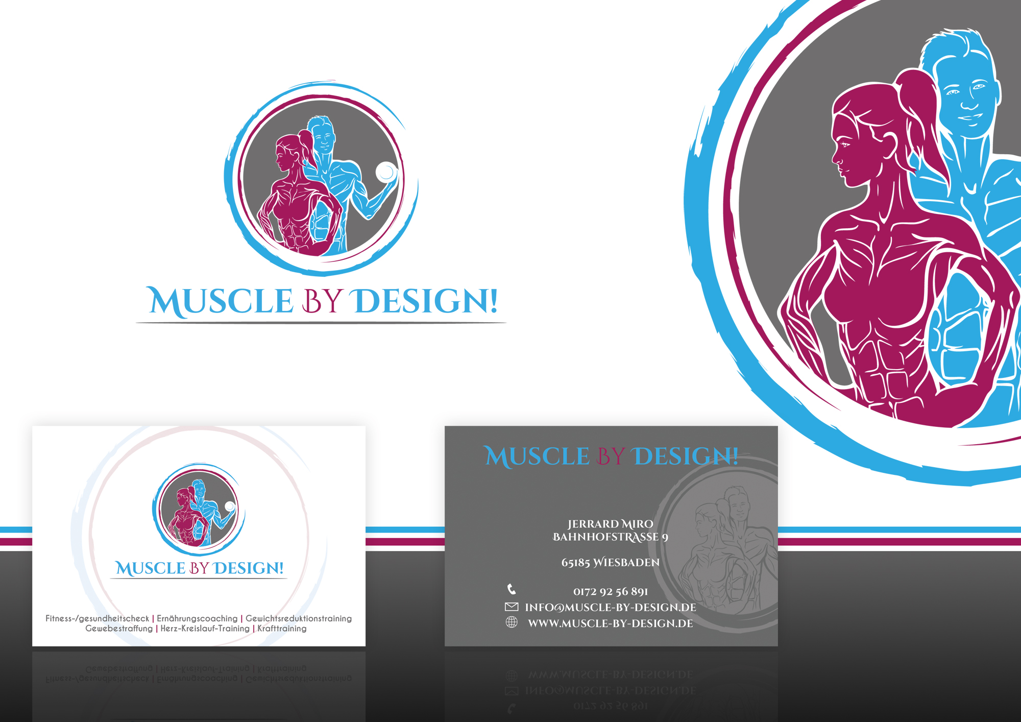 Personal Trainer Personal Fitnessstudio Brauch Logo