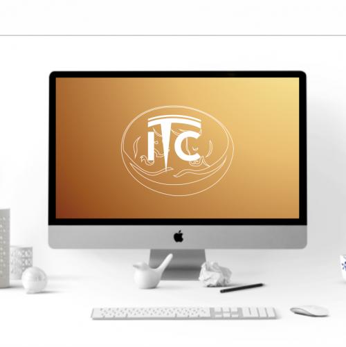 Logo-Design für Kryptowährungs-Coin