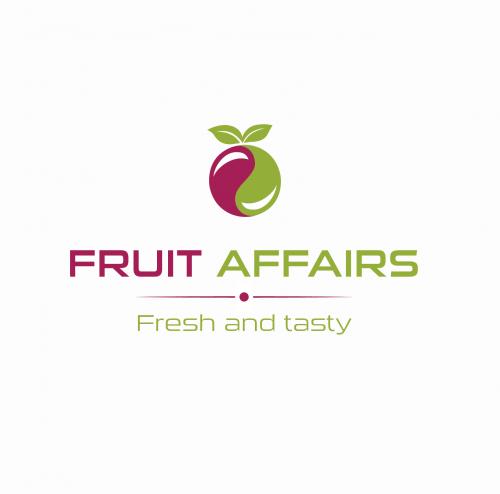 Logo-Design für Verkauf von frischen Fruchtsäften