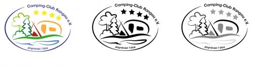 Logo für Campingverein und gleichzeitig Campingplatz