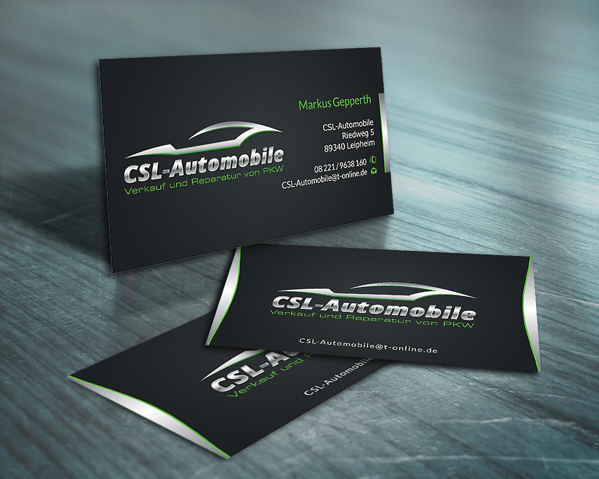 Autohaus Sucht Visitenkarten Visitenkarten Design