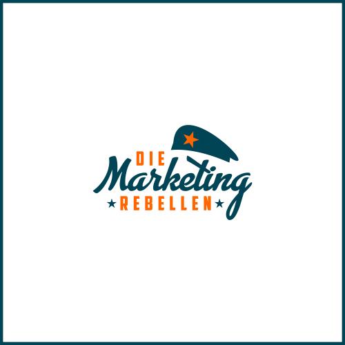 Logo-Design für Entwickler von kreativen Marketing- und PR-Konzepten