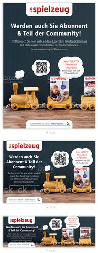 Anzeigengestaltung für Magazin