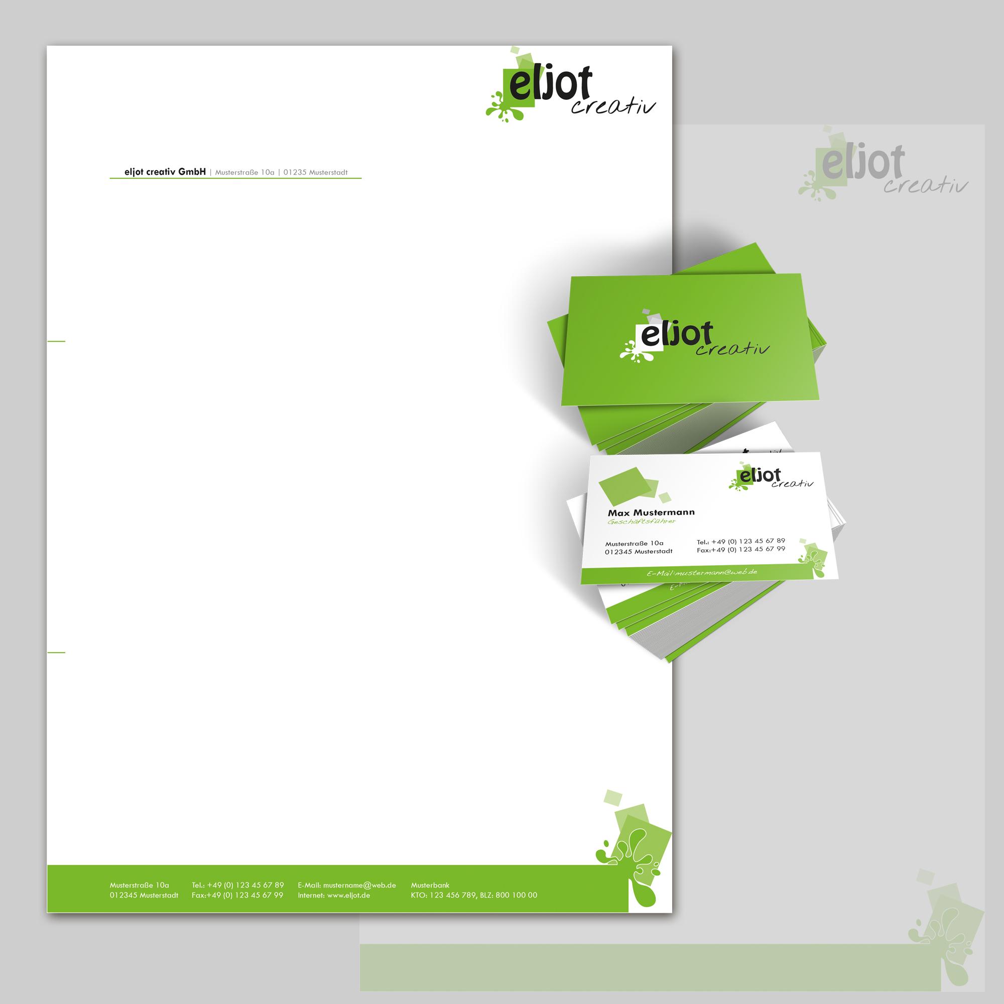 Briefpapier visitenkarte und master f r angebot for Design firma