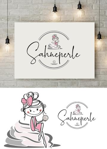 Logo-Design für gehobenes Cafe