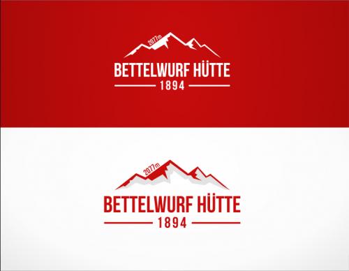 Bettelwurf Hütte » Logo design » designonclick.com