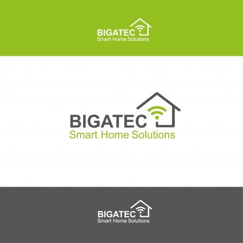 logo design f r die planung von smart home syste logo design. Black Bedroom Furniture Sets. Home Design Ideas