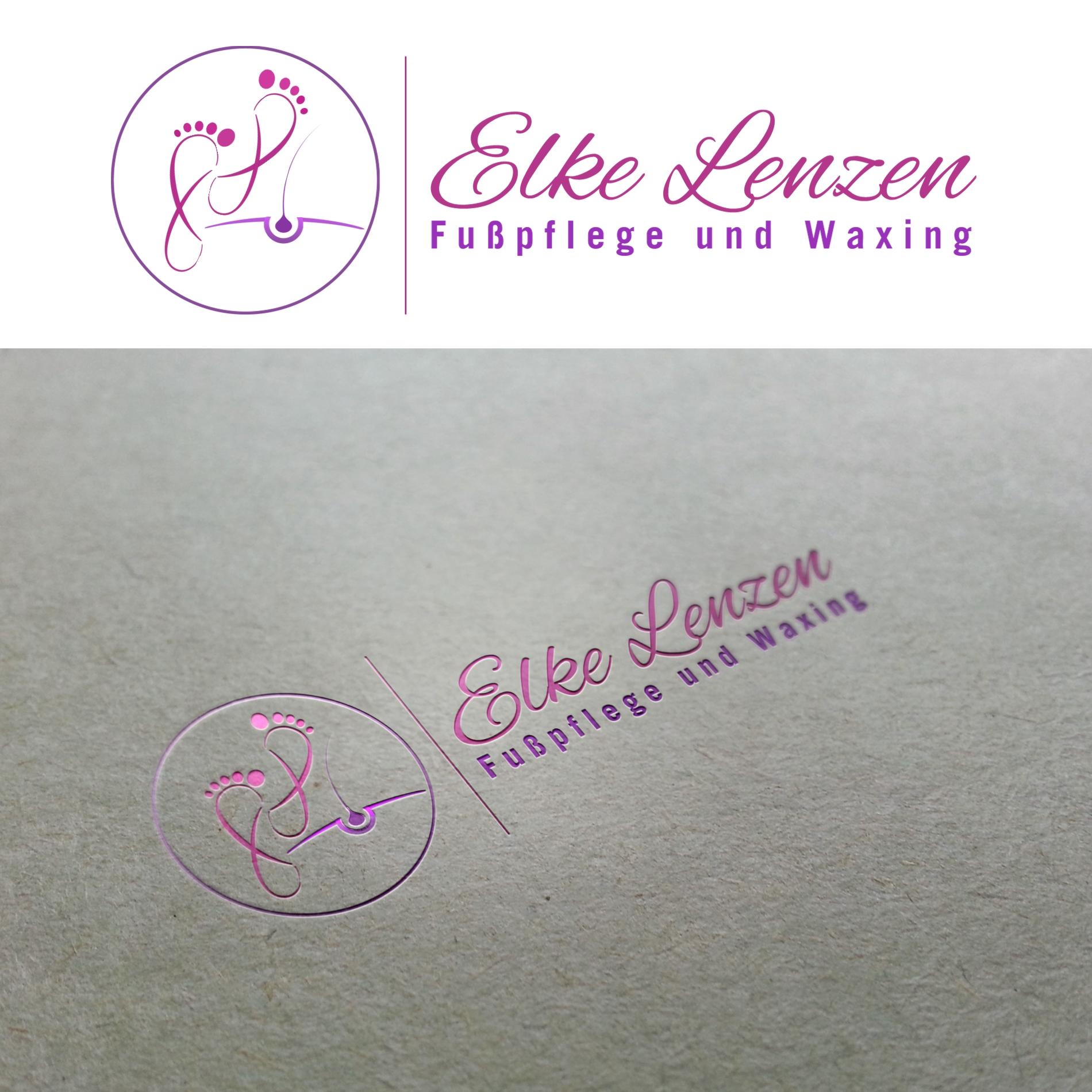 Logo Design Für Fußpflege Logo Visitenkarte