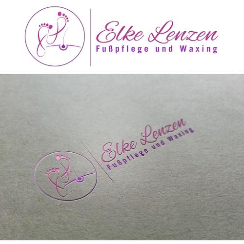 Logo-Design für Fußpflege