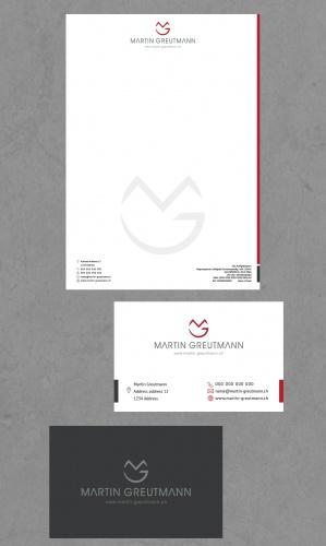 Logo Visitenkarte Für Coaching Und Busines Logo