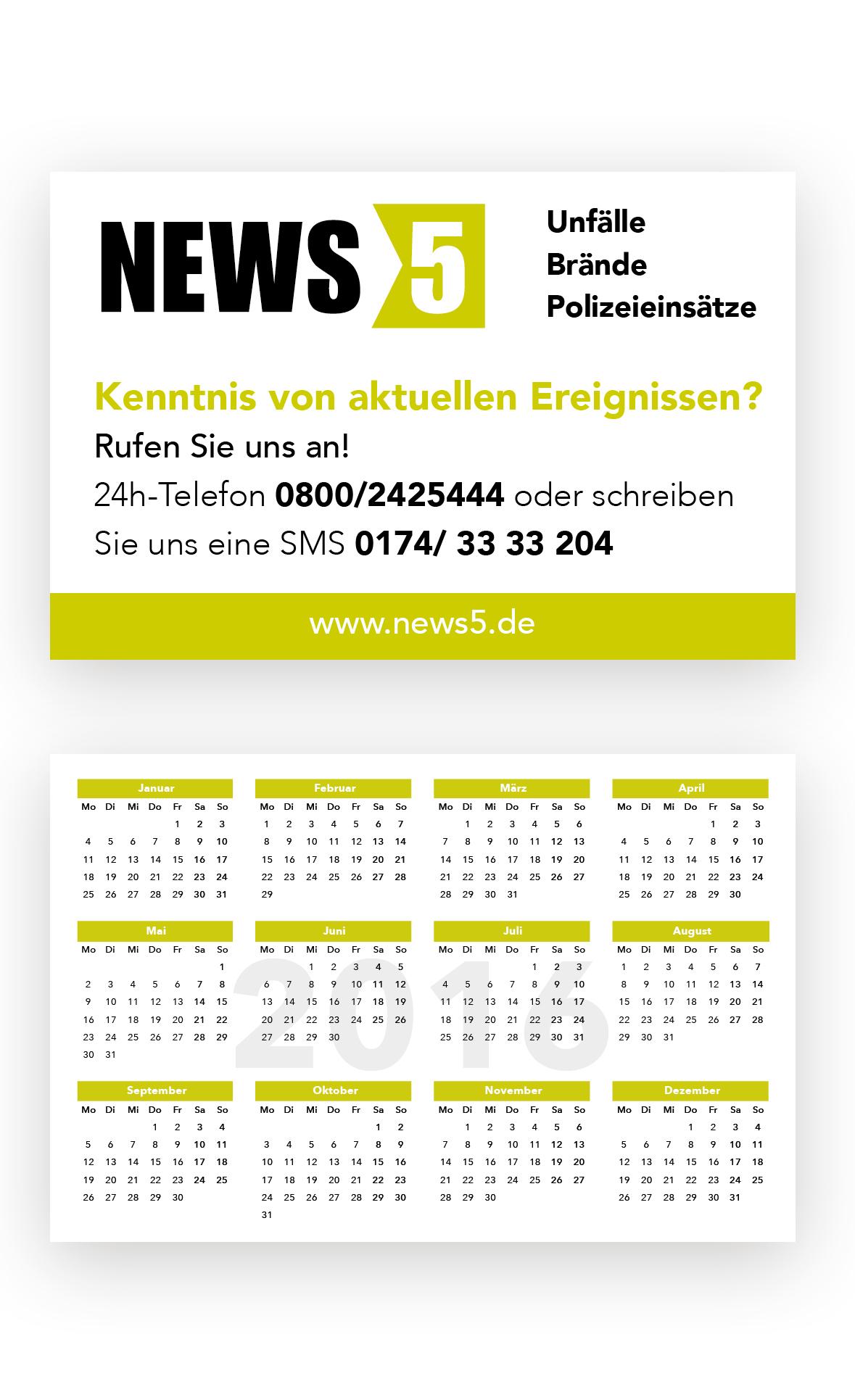 Visitenkarten Taschenkalender Für Agentur Visitenkarten