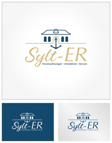 Ferienhäuser und Ferienwohnungen auf Sylt  suchen Logo-Design