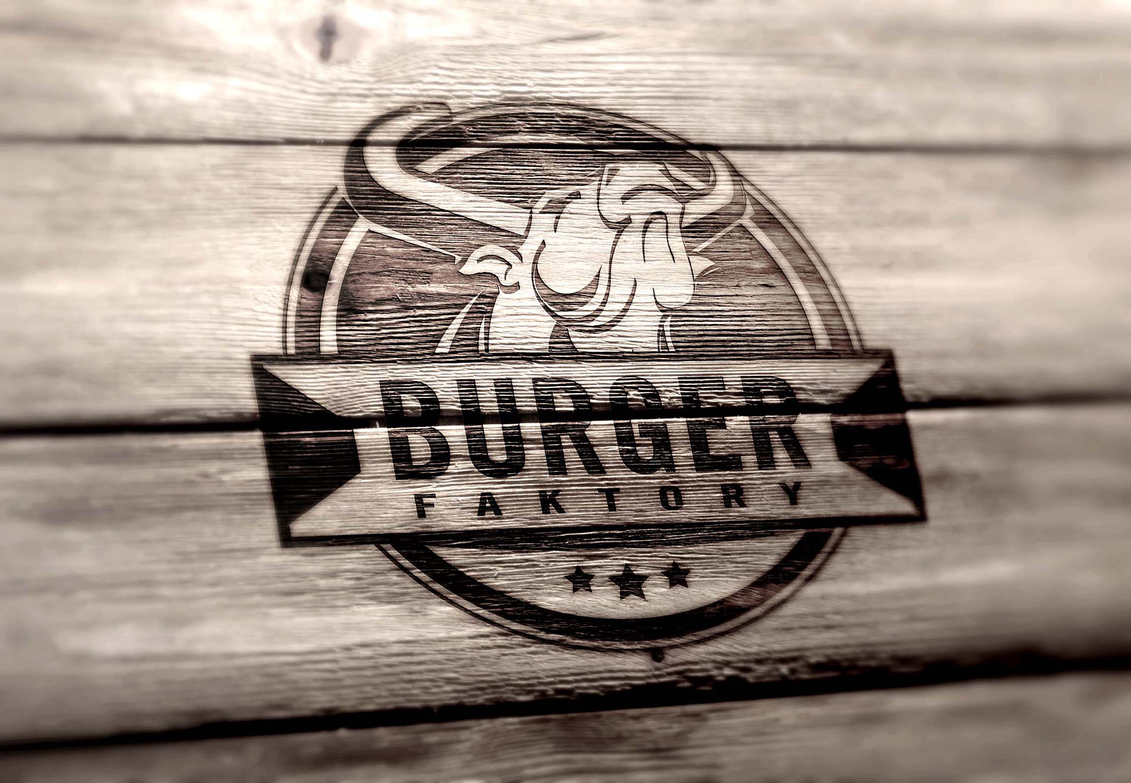 Logo für Burger Restaurant