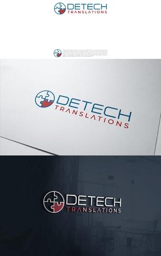 Logo Visitenkarte Für Technische übersetzu Logo