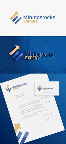 Logo-Design Miningstocks.Expert