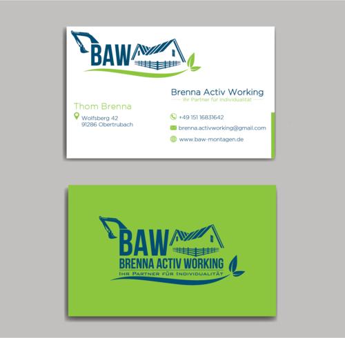 Logo-Design für Montageunternehmen