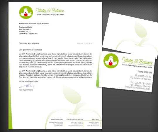 Visitenkarte Und Geschäftspapier Für Diplom Ernä