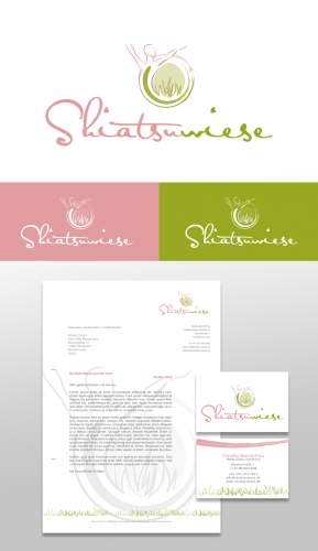 Corporate-Design für Shiatsu Praktikerin