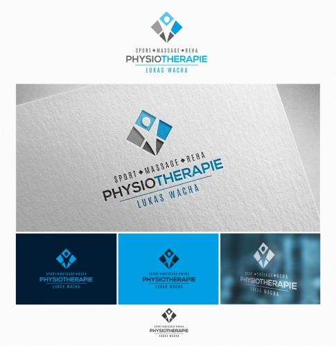 Logo-Design für Physiotherapeuten