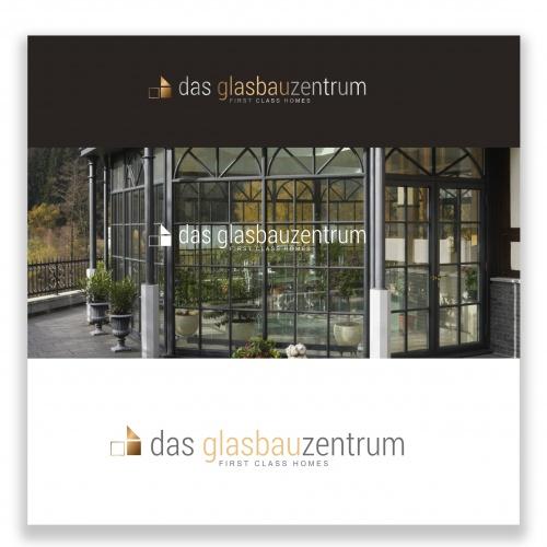 Logo-Design für Glasbau-Unternehmen
