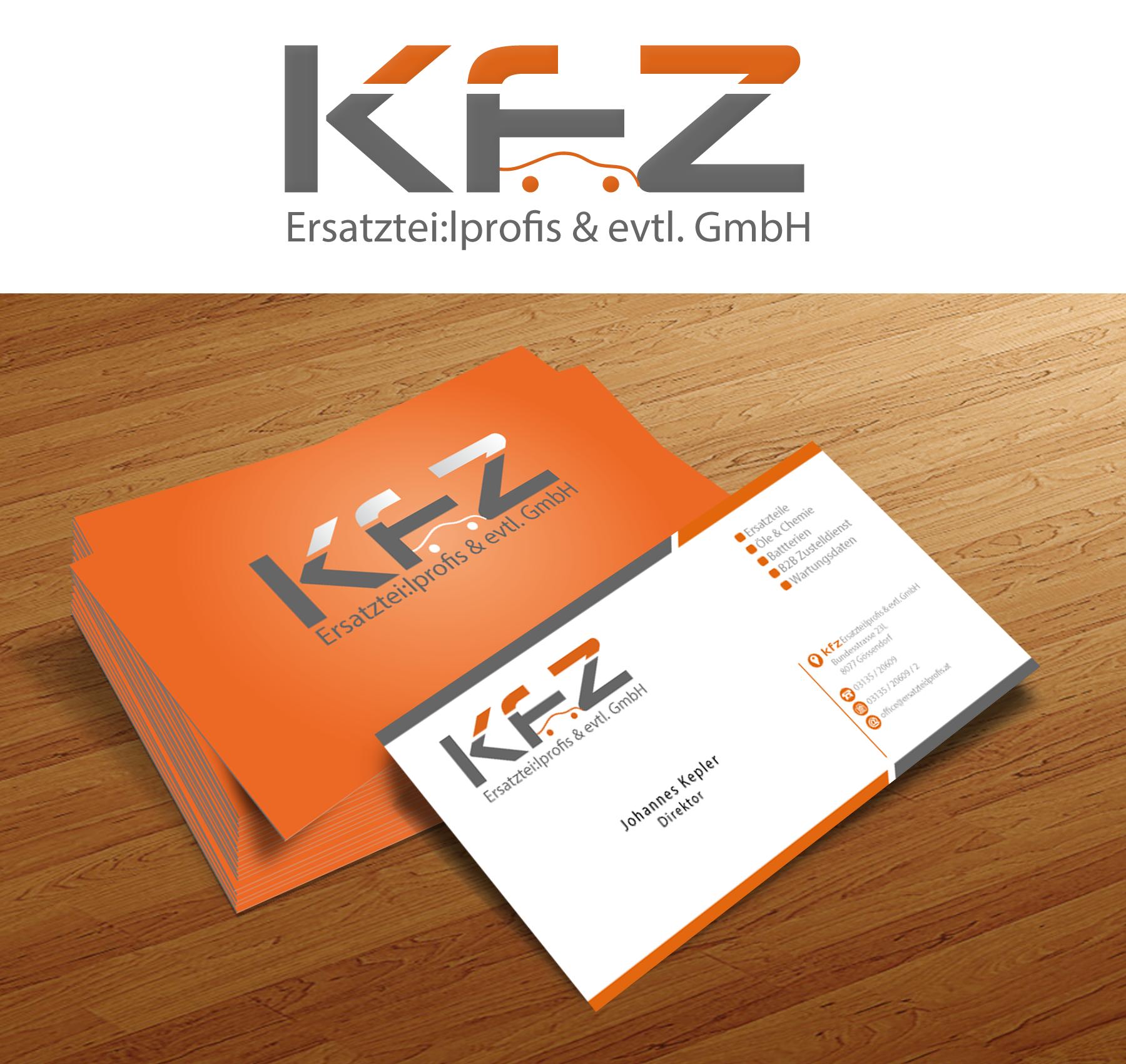 logo und briefpapier visitenkarten f r einen k logo. Black Bedroom Furniture Sets. Home Design Ideas