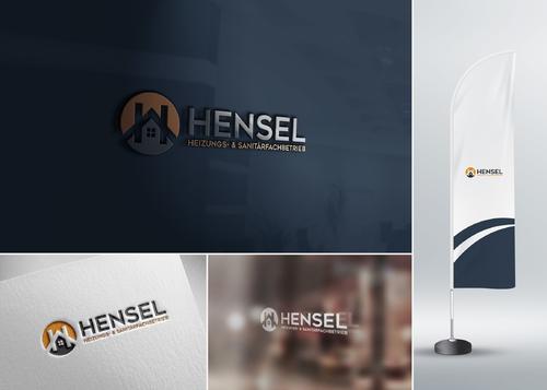 Logo-Design für Sanitärfachbetrieb