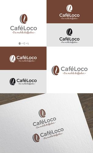 Logo-Design für mobile Kaffeebar