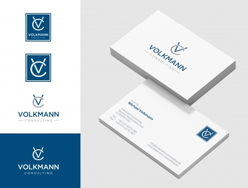 Logo Visitenkarte Für Consulting Logo Business Card