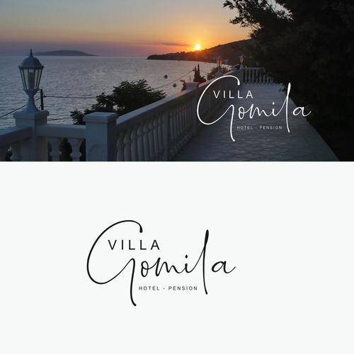 Logo-Design für familiengeführte Hotel-Pension