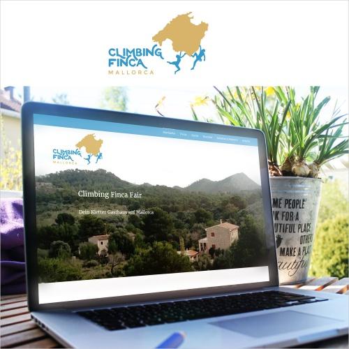 Logo-Design für Climbing Finca Mallorca