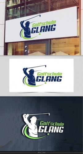 Logo-Design für Golfschule