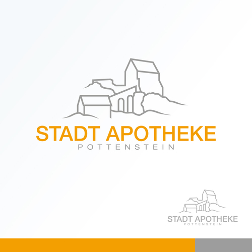 Logo-Design für Stadt Apotheke